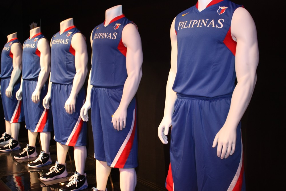 Nike's Team Pilipinas Uniform