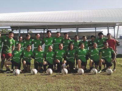 With athletes of ADDU football who organized the MPG Mindanao football invitational for boys